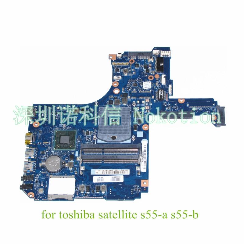 H000053130 For Toshiba Satellite S55 font b motherboard b font SLJ8E HD4000 DDR3