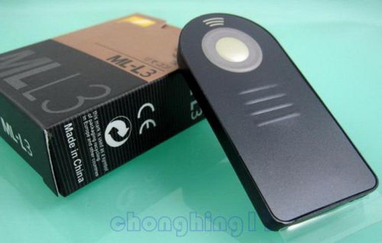 MLL3 ML-L3 IR Wireless Remote Control For DSLR Nikon Camera D3200 D5300 D5200 Accessories