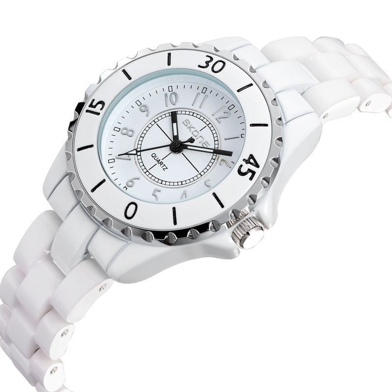 SKONE Original Ceramic Band Quartz Fashion Women Luxury Brand Lady Ceramic Watches Women's Wristwatches(China (Mainland))
