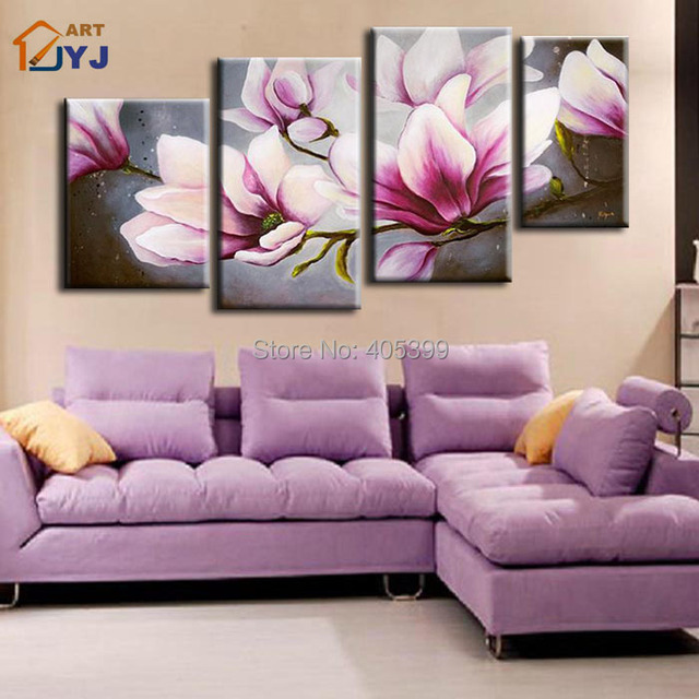 Free Shipping !! The Cherry Blossom! ! Huge  Real Handmade Modern Abstract Oil Painting On Canvas Wall Art ,Z056