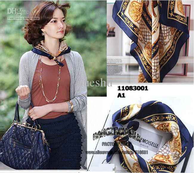 53x53cm 2015 Italy navy horse scarf / 100% silk scarf women hijab banana accessories free shipping(China (Mainland))