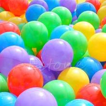 100 pz 7 cm palla colorata sfera di divertimento in plastica morbida ocean sfera del capretto del bambino toy swim giocattolo(China (Mainland))