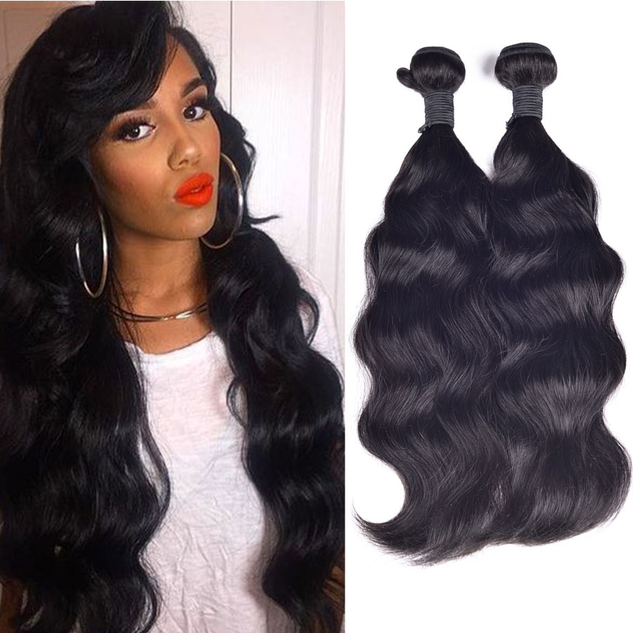 Hot Sale 6A Unprocessed Brazilian Virgin Hair 3pcs/Lot Brazilian Natural Wave Cheap Human Hair Bundles Deals 8-30 Hair Weave <br><br>Aliexpress
