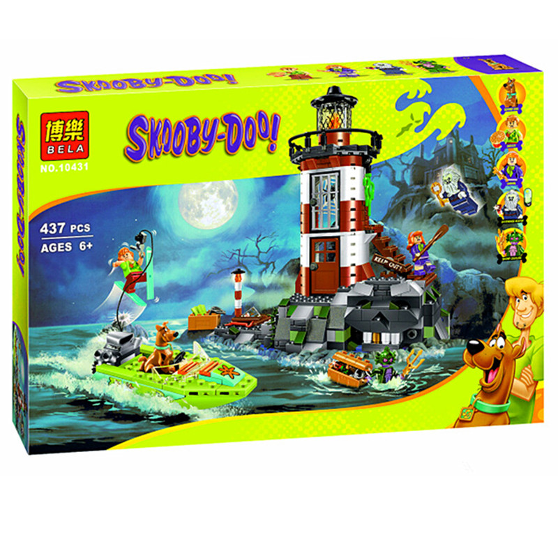 2016 NEW Bela 10431 Haunted Lighthouse Scooby Doo Model Minifigures Bricks Blocks 3D Kids Toy Gifts Compatible with Legoe(China (Mainland))