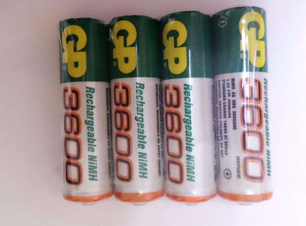 Гаджет  16 Pieces NiMH AA 1.2V Rechargeable NI-MH Battery 3600 mAh bateria recargable gp AA battery pilha recarregavel None Электротехническое оборудование и материалы