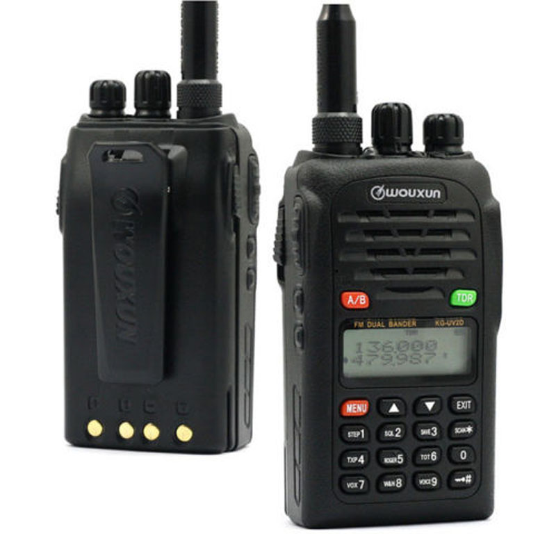 Hot-selling WouXun KG-UVD1P The Best Dual Band Radio in China Free Shipping KG UVD1P Walkie Talkie(China (Mainland))