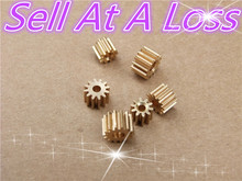 Buy 10pcs K093B Mini 3.17 MM Pore 14 Tooth Brass Motor Shaft Gear DIY Toys Parts Sell Loss USA Belarus Ukraine for $1.65 in AliExpress store