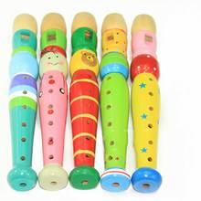 2016 Year New Popular Children Playing Musical Instruments Flute Novelty & Gag Toys Puzzle Wooden Flute Unisex Toys & Hobbies (China (Mainland))