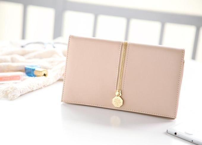 2016 new French perfume fashion brand nade color long wallet lady envelope bag multifunctional women handbag clutch(China (Mainland))
