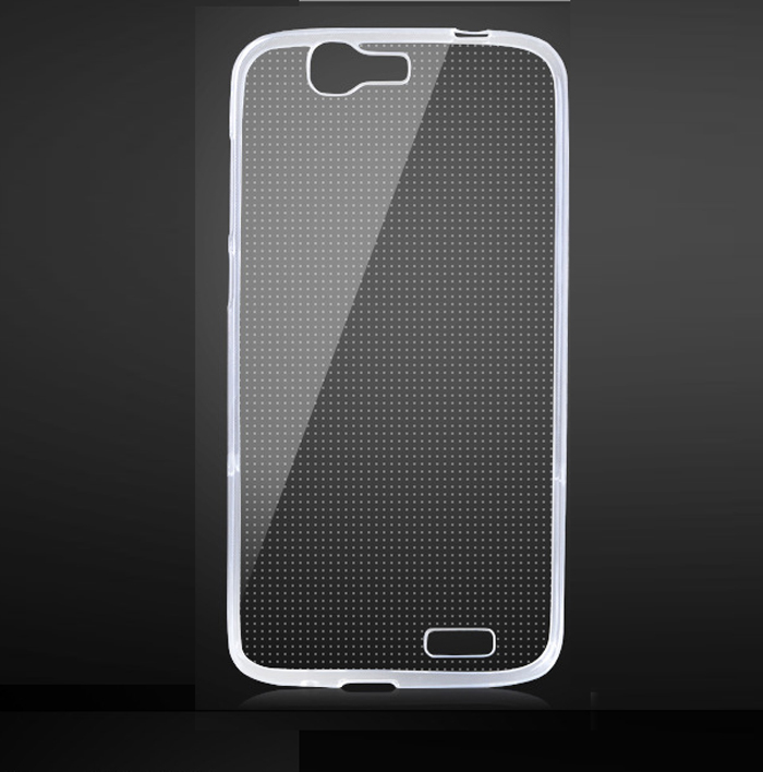 High Quality case for Huawei Ascend G7 C199 (Only For 4G) case Ultra Thin Matte Clear Silicone Protective case back cover(China (Mainland))