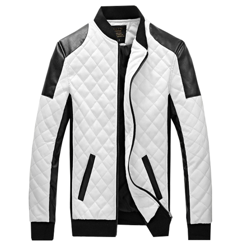 Man Lether Jackets Man made Leather Jaquetas Masculinas Inverno Couro Jacket Men Jaquetas De Couro Men's Winter Leather Jacket(China (Mainland))