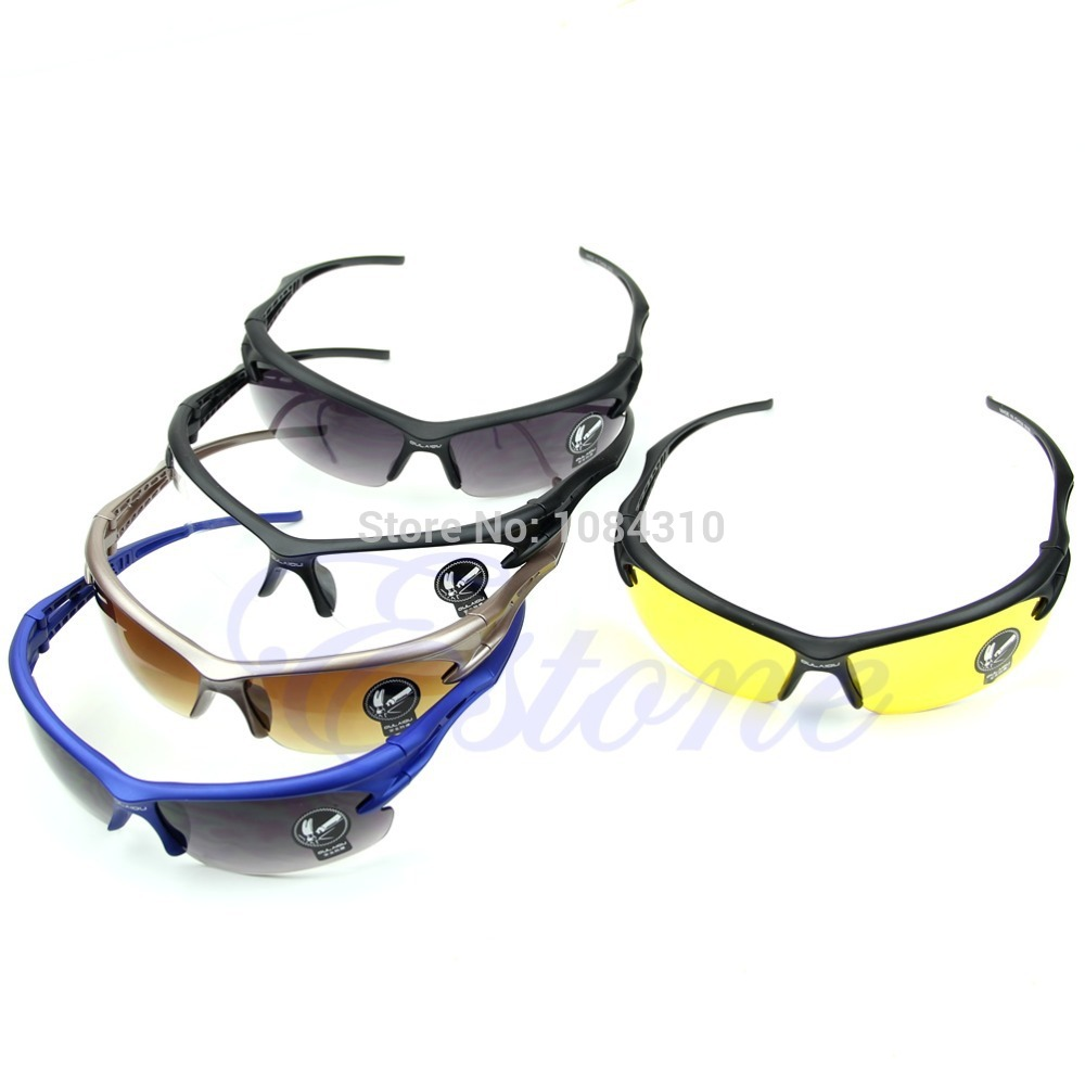 S111  Free Shipping 1 Pieces New Hot Cycling Riding Running Motocycle Sports UV Protective Goggles Sunglasses<br><br>Aliexpress