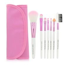 Accessorize Makeup Professional 7 pcs Makeup Brush Set toolshigh quality Make-up Toiletry fiber Brand Make Up Brush Set Case