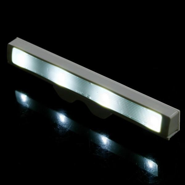 Brand New Shaking 4 LED Sensor Light Motion Detector Drawer Saving Energy Light Lamp Free shipping(China (Mainland))
