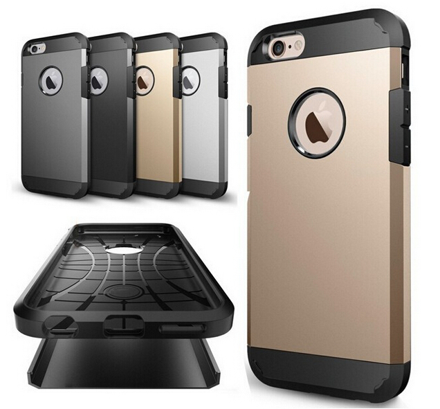 12 Colors Robot Tough Slim Armor Case For Apple iPhone 6 4.7 inches Back Cover Frame(China (Mainland))