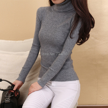 Erdos raw worsted cashmere sweater women plus size 3XL fashion solid color turtleneck woman knitwear pullover Free Shipping LX72