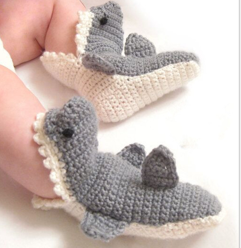 Knitting Shoes Suppliers : Popular shark stocking buy cheap lots from