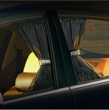 2Pcs/set New Black Mesh Fabric Car Auto Window Curtain 50x47cm Sunshade Set UV Protection Side Window Curtain Freeshipping.(China (Mainland))