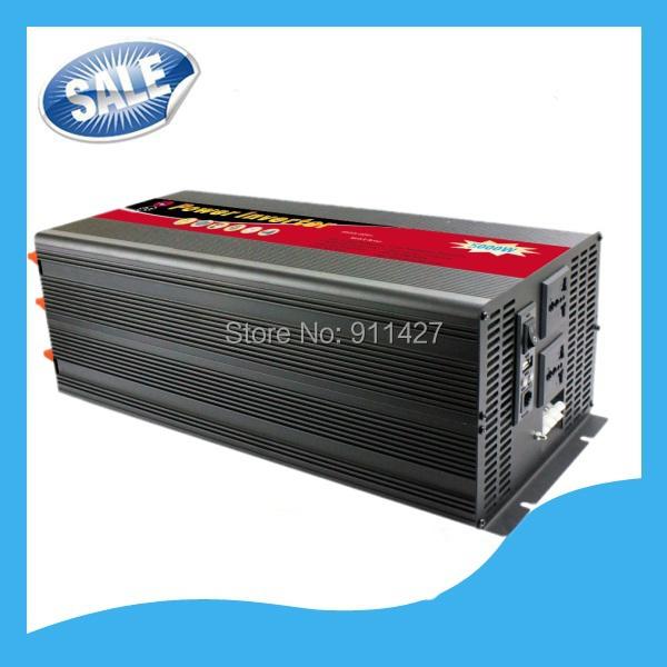 5000W DC48V AC 110V/220V/230V/240V Modified Sine Wave Power Inverter USB Free Shipping,remote control(China (Mainland))