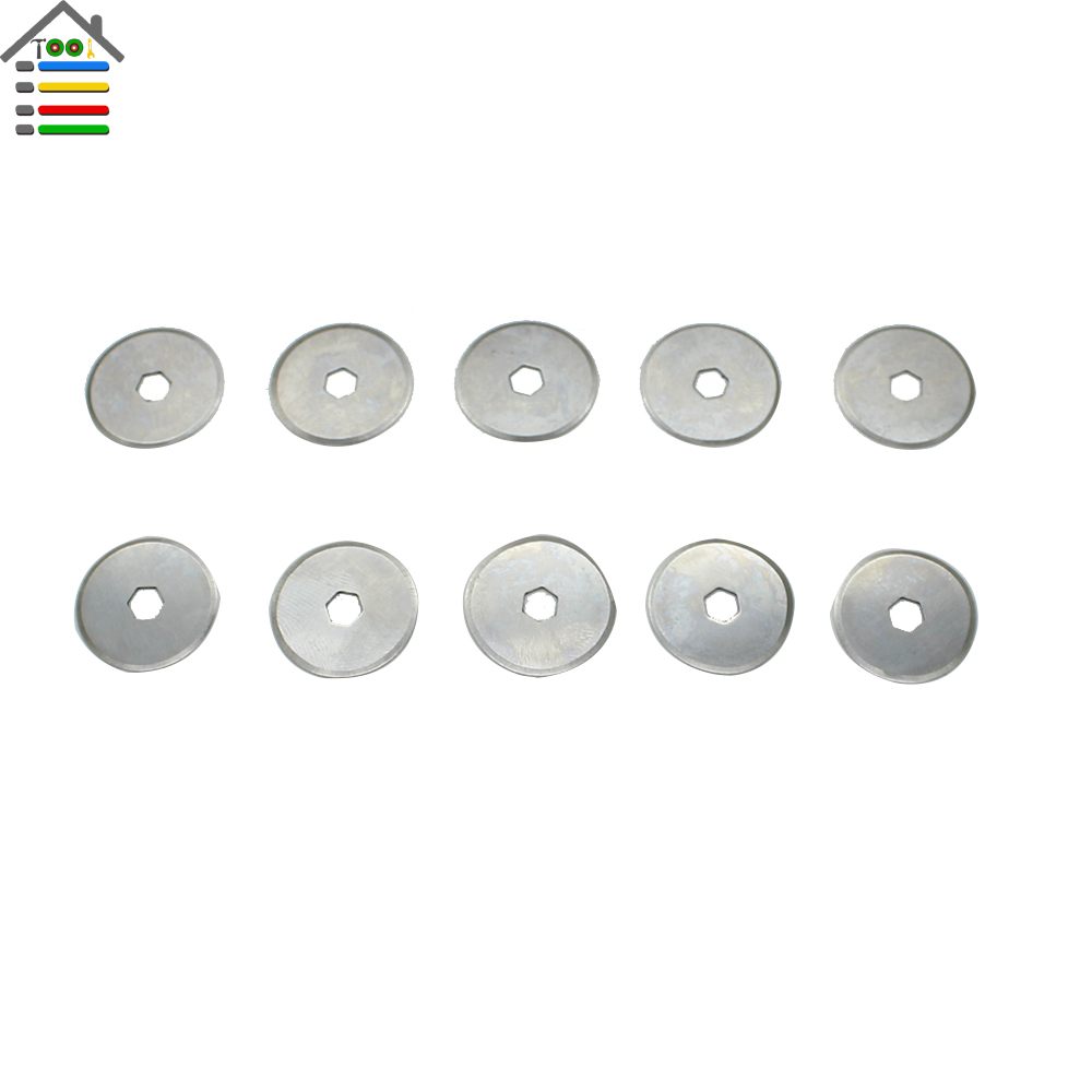 Shipping 05 Internat 5x 18mm Rotary Cutter Replacement Blades Patchwork Quilt