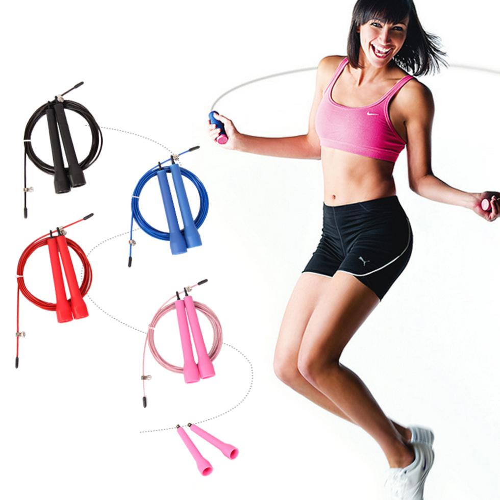 fitness crossfit skipping ropes speed jump rope jump TPU skipping rope handle gym training sports exercise for free shipping(China (Mainland))