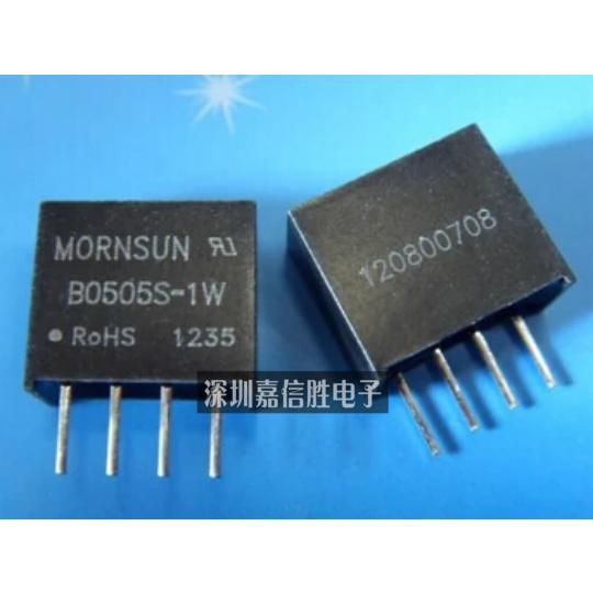 Mornsun B0505S - 1 w new original DC - DC module isolating regulated power supply 5 v to 5 v--JXSD2(China (Mainland))