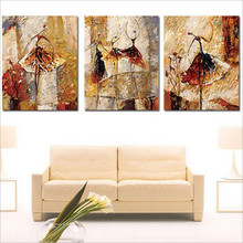 drawing coloring by numbers Ballet pictures paintings for living room 40X50X3 set hand painted oil painting acrylic paints P066(China (Mainland))