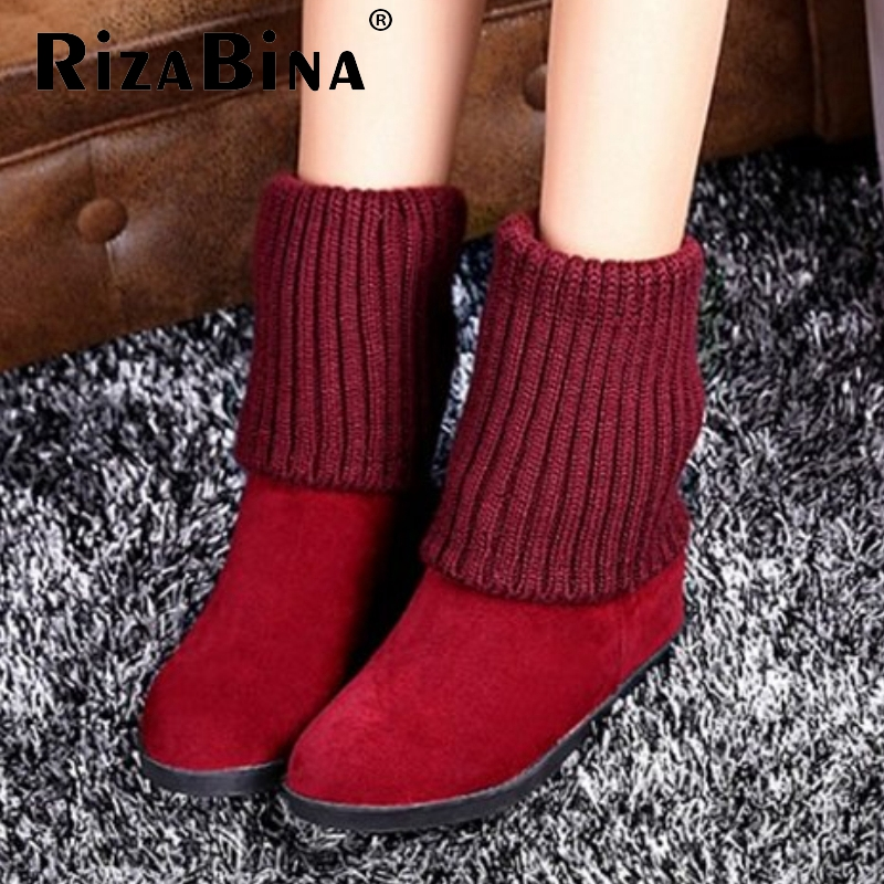 women falt ankle boots half short autumn winter botas fashion quality footwear round toe warm boot shoes P19330 size 33-40<br><br>Aliexpress