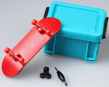 Hot seller fitness toys in door red maple wood mini finger skateboard professional toy for kids and adults(China (Mainland))