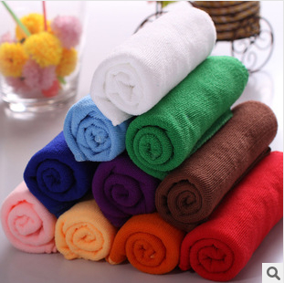 6 size 10 colors wholesale beach towels cheap bath towels sale multi-functional towels for kitchen clean,car washing hair dry(China (Mainland))