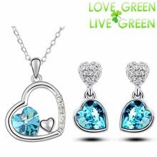 mindjuse i privezak u obliku srca nakit za zene