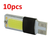 10 x T10 W5W LED canbus error free COB Car Auto 12v White Car Light Fog Lamp(China (Mainland))
