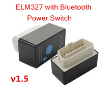 2016 V1.5 Super MINI ELM327 Bluetooth ELM 327 Version 1.5 OBD2 / OBDII for Android Torque Car Code Scanner