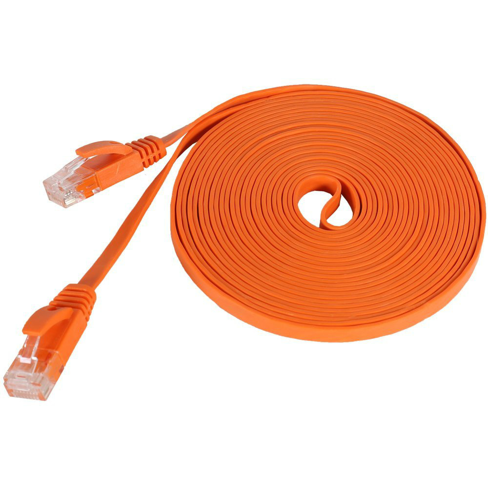 200PCS/lot 6FT 2M CAT6 CAT 6 Flat UTP Ethernet Network Cable RJ45 Patch LAN cable(China (Mainland))