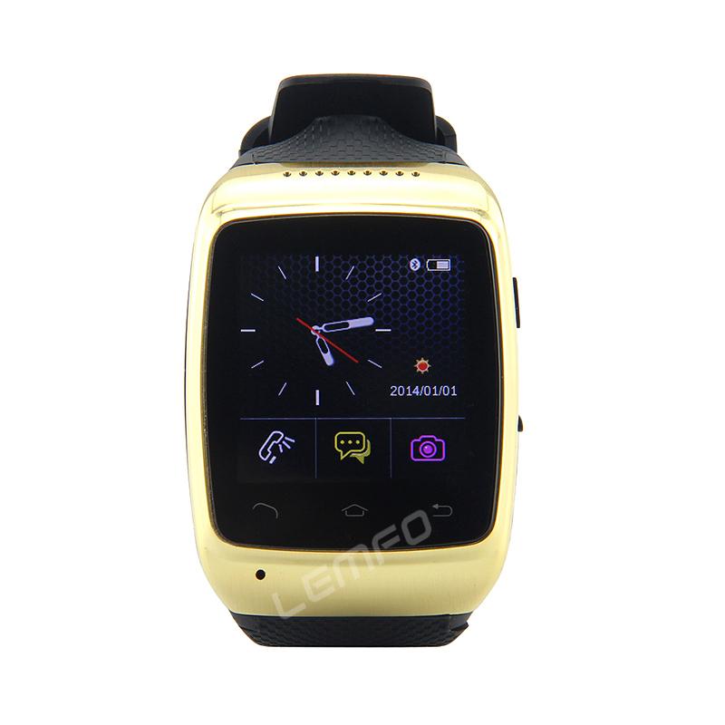 ZGPAX S15 Smart Watch Bluetooth Smartwatch Luxury Wristwatch 1.54'' 8GB 2MP Camera Sync Android For Samsung HTC Nokia Lenovo New(China (Mainland))