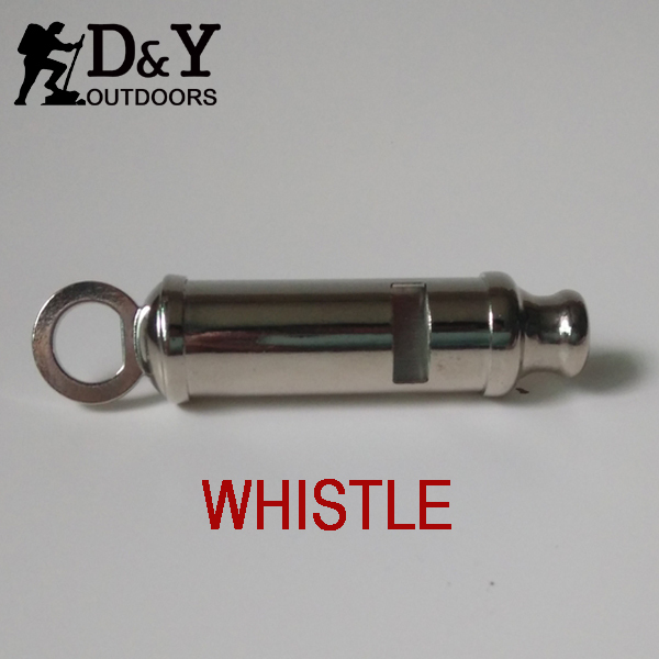 Здесь можно купить  cheap metal promotional whistle with lanyard and chain,  good quantity dog Safety Whistles DH118  Спорт и развлечения