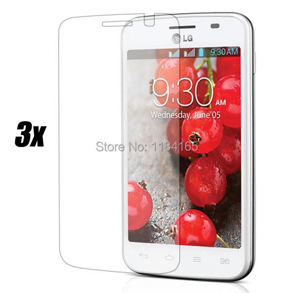 Защитная пленка для мобильных телефонов 3 /lg Optimus L4 II /e445 чехол для lg optimus l7 ii p713 в воронеже