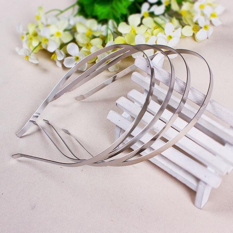 Wholesale 0.5cm DIY Metal Hairbands Hair headbands Accessory, Hair Hoops for jewelry DIY, Metal Hair Hoops DIY130(China (Mainland))