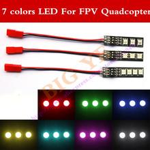 Buy RGB 5050 LED Light Board 5V 12V 16V 7 Colors & 3S 4S Switch RC 250 QAV250 FPV Quadcopter for $3.98 in AliExpress store