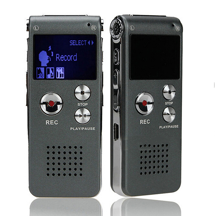 8GB Brand Spy Mini USB Flash Digital Audio Voice Recorder 650Hr Dictaphone MP3 Player Grey Pen Drive Grabadora Gravador de voz(China (Mainland))