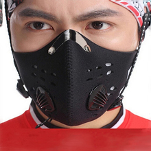 Windproof Winter Face Mask Sports Summer Cycling Motorcycle Carbon Protective Filter Thermal Masks free shipping