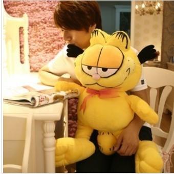 Free ship children/kid/baby pp cotton Stuffed Toy birthday gift doll plush toys Garfield cat 50cm(China (Mainland))