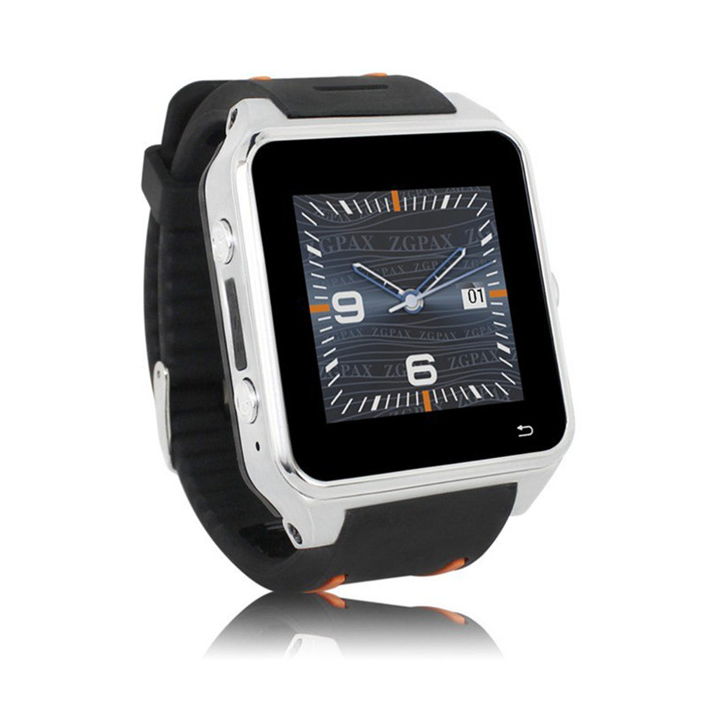 Smart Wrist Watch Phone GSM WCDMA SW82 Android Wear OS Dual Core GPS 2.0MP Camera Bluetooth 4.0 WiFi FM SIM for Men(China (Mainland))