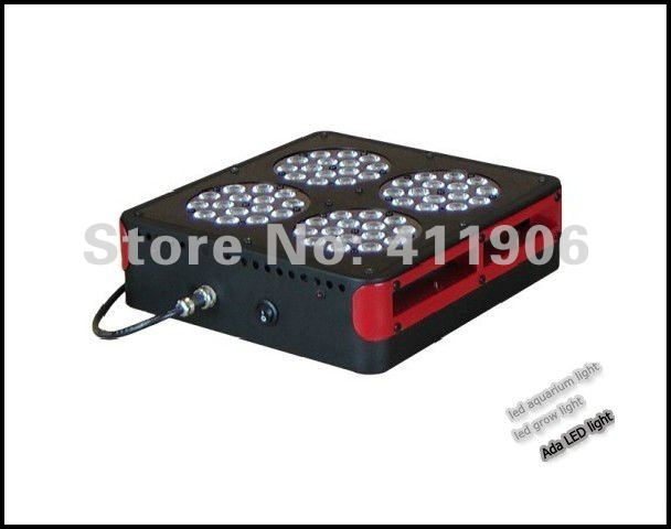 Apollo 4 led grow light greenhouse hydroponic growing systems DIY ratio flowering 3w led's(China (Mainland))