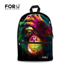 Buy FORUDESIGNS Animal Printing School Backpack Teenage Girls,Owl Canvas Back Bag,Backpacks Teenagers Boys Children Back Pack for $28.34 in AliExpress store