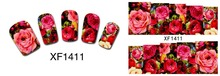 50Sheets Nail Art Flower Water Tranfer Sticker Nails Beauty Wraps Foil Polish Decals Temporary Tattoos Watermark