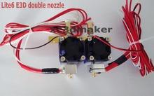 E3D V6/lite6 HotEnd Full Kit -1.75mm 12V Bowden for RepRap 3D Printer Extruder kit kossel delta prusa i3 xc3d maker mk9/exrtuder