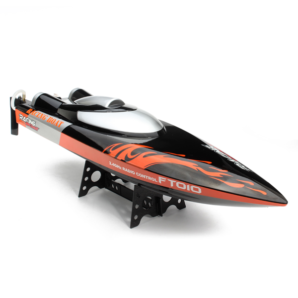 F16610 Large 65cm FT010 2.4G Remote Controller Brushed Speedboat RC Racing Boat High Speed 35KM/H Water Cooling System Toys<br><br>Aliexpress
