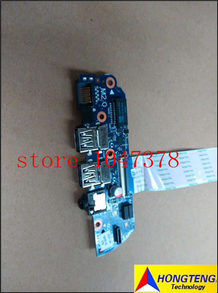 Wholesale K11-DIS-8L FOR HP Envy 15-3000 Series USB Audio Jack Board 6050A2642501-USB-A02 100% Tested 100% Work Perfect<br><br>Aliexpress