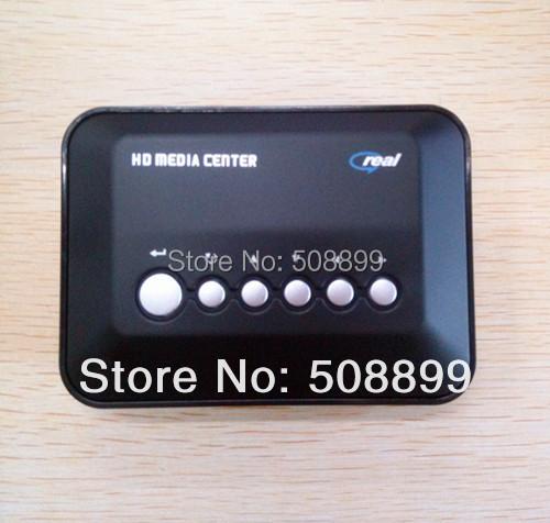 New 1pcs/lot 720p HD Multi Media Movie Center RM/RMVB/AVI/MPEG/MP3/MP4 TV Player USB SD/MMC With Free Shipping(China (Mainland))